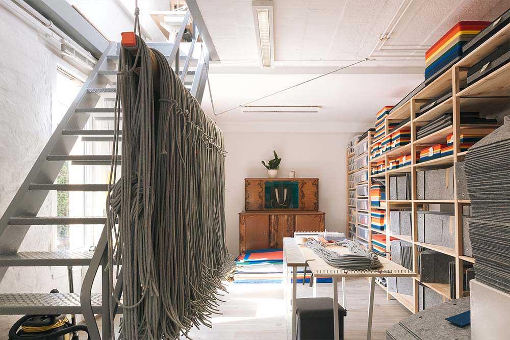 Das neue RÅVARE-Atelier in Leipzig-Gohlis ist hell und luftig auf zwei Etagen.
